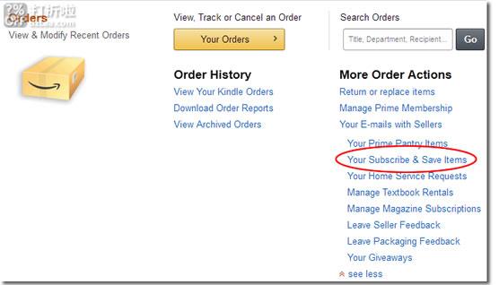 美国亚马逊Amazon的订购省Subscribe&Save是什么?如何使用及取消?