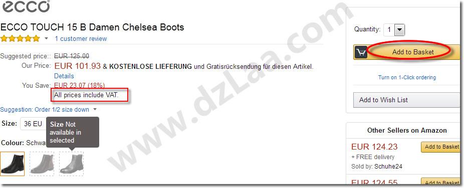 欧洲各国亚马逊海淘购物教程(以德国亚马逊为例)
