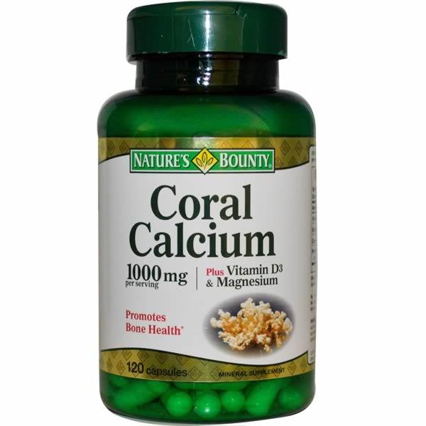 Nature's Bounty 自然之宝 珊瑚钙+VD3胶囊 120粒装,优惠券折后$6.56,合箱到手约¥62